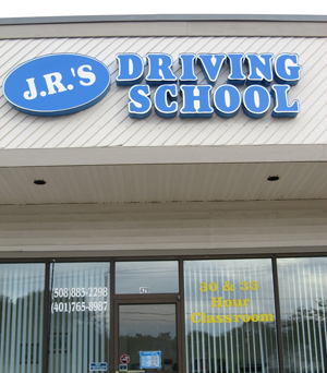 Front of J.R.'s Driving School